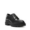 La Canadienne Bowen Black Leather angle view - Hanig's Footwear