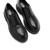 La Canadienne Bowen Black Leather top view - Hanig's Footwear