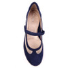 Beautifeel Sher Navy Blue top view — Hanig's Footwear