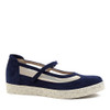 Beautifeel Sher Navy Blue angle view — Hanig's Footwear