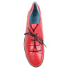 Thierry Rabotin Tulip 2292Q Red Taffetas top view — Hanig's Footwear