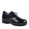 Thierry Rabotin Zeke 7813 Black Drillo angle view - Hanig's Footwear