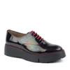 Wonders A-9304 tartan angle view - Hanigs Footwear