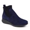 Hirica Sacha marine angle view - Hanig's Footwear
