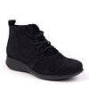 Hirica Sidonie Black angle view - Hanig's Footwear
