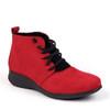Hirica Sidonie Rouge angle view - Hanig's Footwear