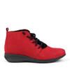 Hirica Sidonie Rouge side view - Hanig's Footwear