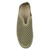 Ilse Jacobsen Tulip 3575 laurel green top view - Hanig's Footwear