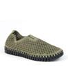 Ilse Jacobsen Tulip 3575 laurel green angle view - Hanig's Footwear