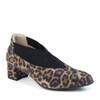 Beautifeel Gia Leopard Print angle view - Hanig's Footwear