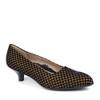Beautifeel Mystique Bronze Print angle view - Hanig's Footwear