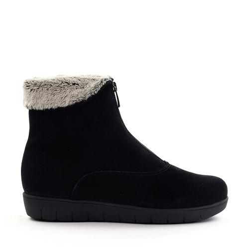 La Canadienne Tess Black side view - Hanig's Footwear