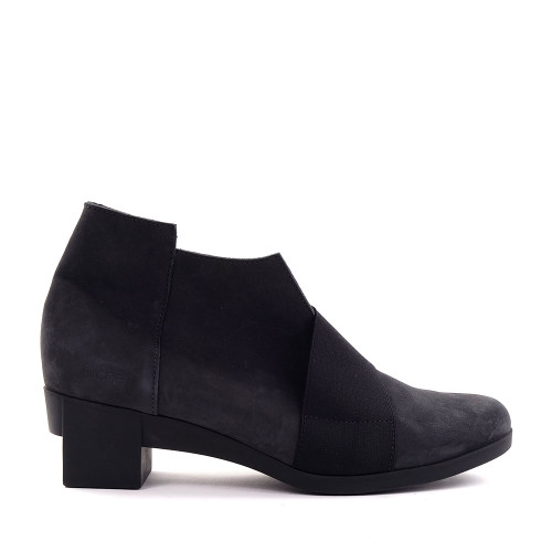 Arche Tatebo Boot in charcoal side view - Hanig's Footwear