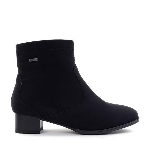Ara Gloria Black Goretex side view - Hanig's Footwear