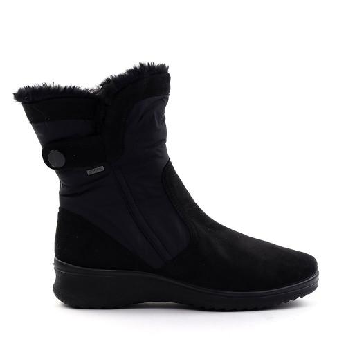 Ara Millie boot in black side view - Hanig's Footwear