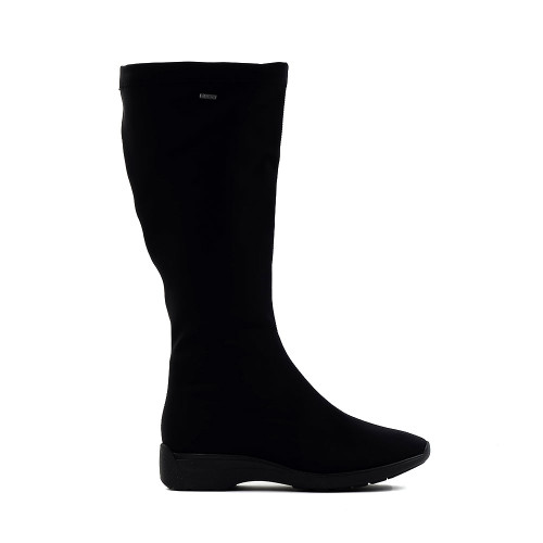 ARA Padma Black Microfiber goretex side view - Hanig's Footwear