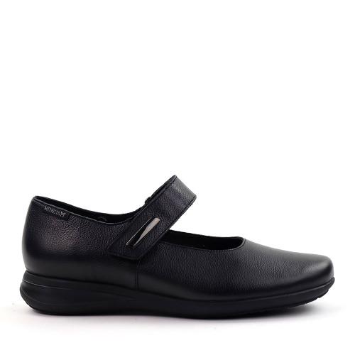 Mephisto Nyna Black side view - Hanig's Footwear