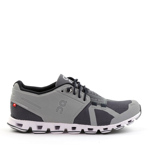 ON Running Cloud Women's slate rock angle view - Hanig's Footwear
