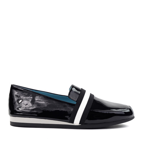 Thierry Rabotin Tempio 2294 Black Shine side view - hanig's footwear