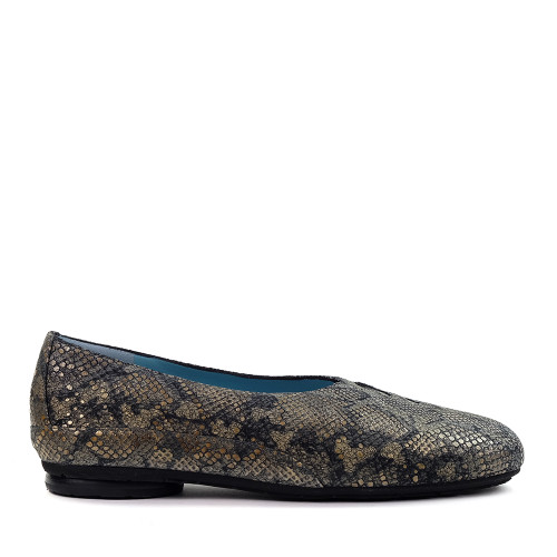 Thierry Rabotin Grace 7410 Taupe Africa side view - Hanig's Footwear