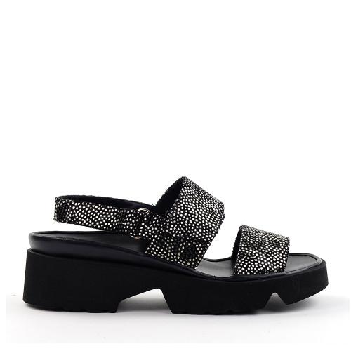 Thierry Rabotin 1332 Barton Jones sandal side view - Hanig's Footwear