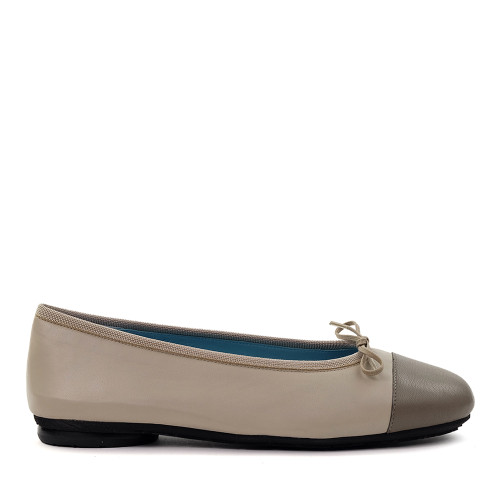Thierry Rabotin Grayson 2239 Taupe side view - Hanig's Footwear
