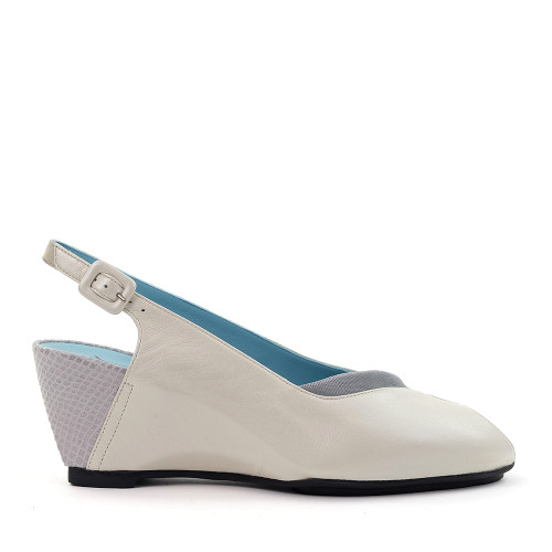 Thierry Rabotin Zenone 836 White side view - Hanig's Footwear