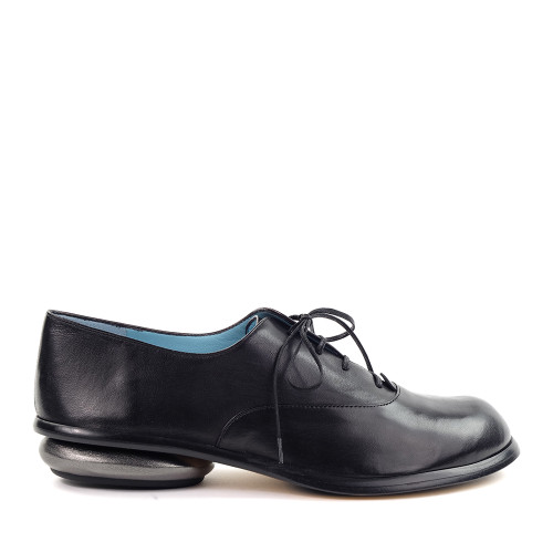 Thierry Rabotin Mirea 6502 Black side view - Hanig's Footwear
