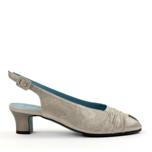 Thierry Rabotin Florin 3111 Gold side view - Hanig's Footwear