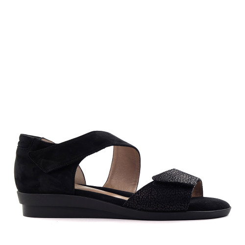 Beautifeel Dita Black side view — Hanigs Footwear