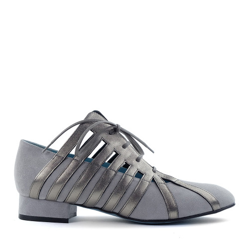 Thierry Rabotin Savannah C1039 Grey side view - Hanig's Footwear