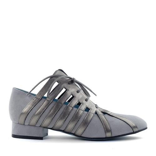 Thierry Rabotin Savannah C1039 Grey side view - Hanig's Footwear