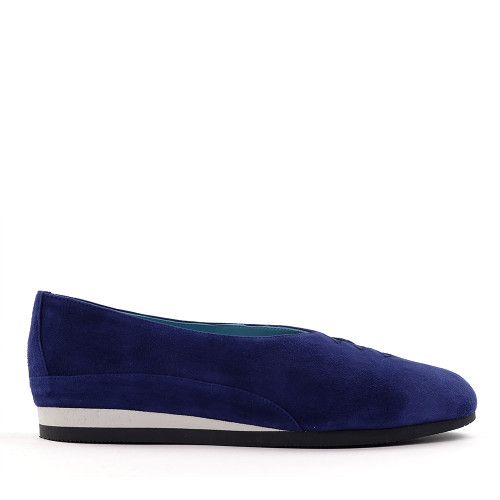 Thierry Rabotin Grace 7410 Blue side view - Hanig's Footwear