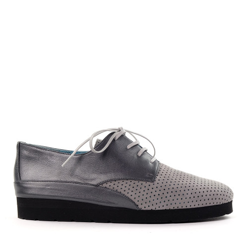 Thierry Rabotin Gatsby 7472 Grey side view - Hanig's Footwear