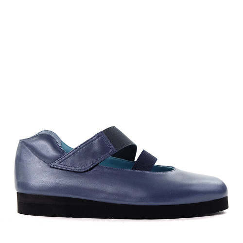 Thierry Rabotin Petra 1599 Blue side view - Hanig's Footwear