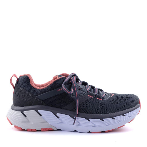 Hoka One One Clifton 6 Dark Shadow Womens side view - Hanig's Footwear