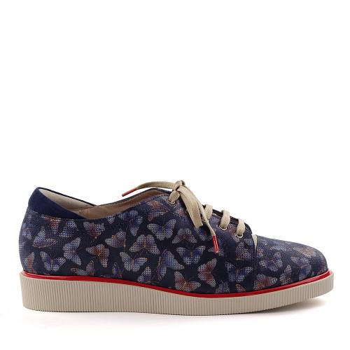 Beautifeel Jane Taupe Print side view - Hanig's Footwear