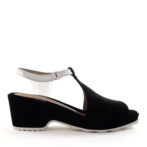 Beautifeel Jess Black side view - Hanig's Footwear