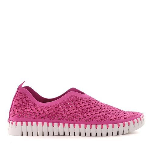 Ilse Jacobsen Tulip rose violet side - Hanigs Footwear