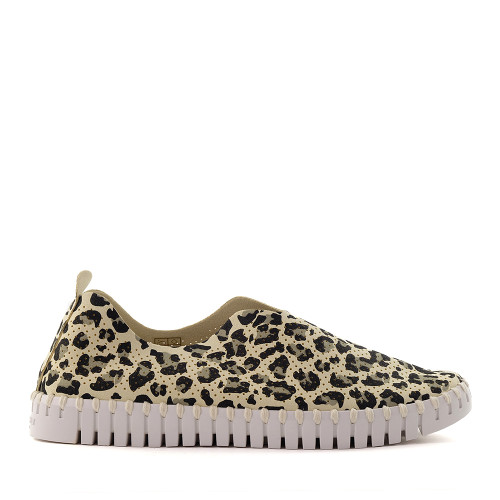 Ilse Jacobsen Tulip light cheetah side - Hanigs Footwear