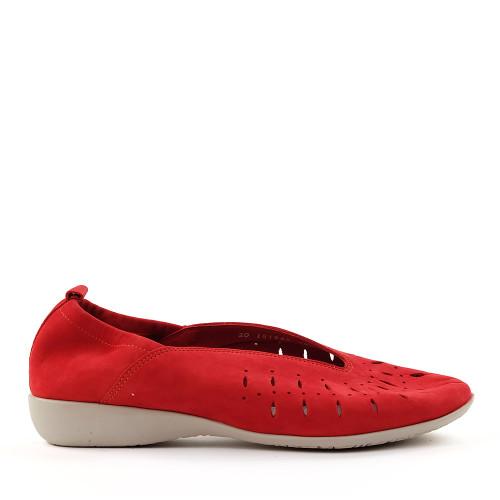 Hirica louise coral side view - Hanig's Footwear