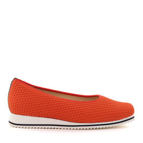 Hassia 301517-0100 Orange Hex side view - Hanig's Footwear