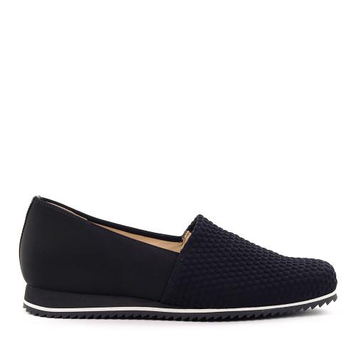 Hassia 301687-0100 Black Hex side view - Hanig's Footwear