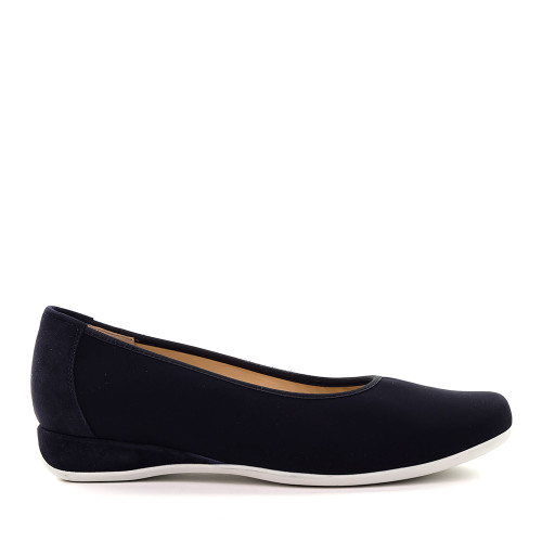 Hassia 301724-0100 Navy side view — Hanig's Footwear