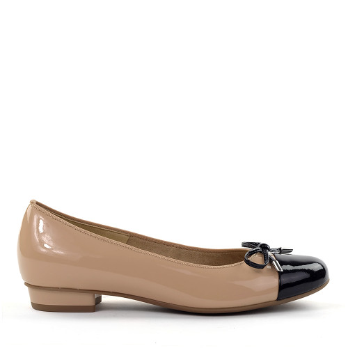 Ara Belinda Nude side view - Hanig's Footwear