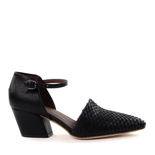 Lilimill 6800 Black Armor Snake side view - Hanig's Footwear