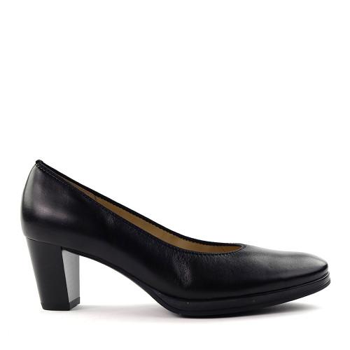 Ara Ophelia Black side view - Hanig's Footwear