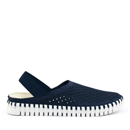 Ilse Jacobsen Tulip elastic navy side - Hanigs Footwear
