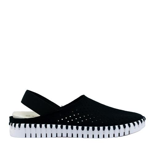 Ilse Jacobsen Tulip elastic black side - Hanigs Footwear