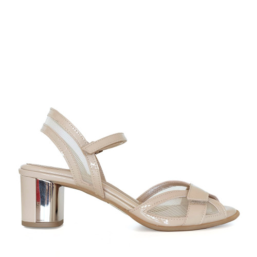Beautifeel Sunny Blush Patent side view  — Hanig's Footwear